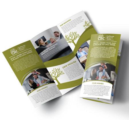 Sober Living Trifold Brochure